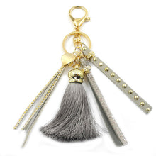 Load image into Gallery viewer, Colorful Tassel Keychain