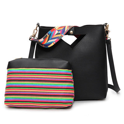 Tribal Strap Tote Bag