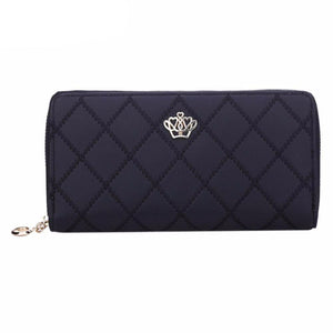 Long Purse Clutch Crown Wallet