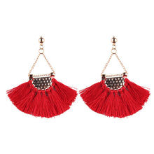 Load image into Gallery viewer, Fringe Tassels Earrings