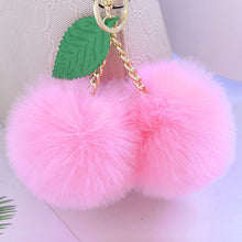 Load image into Gallery viewer, Fluffy Cherry Pom Pom