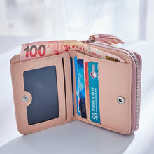 Load image into Gallery viewer, Short Tassel Wallet