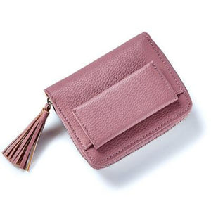 Short Tassel Wallet