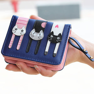 Handcrafted Cat Wallet