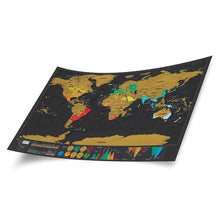 Load image into Gallery viewer, Globetrotter Maps® Scratchable World Map