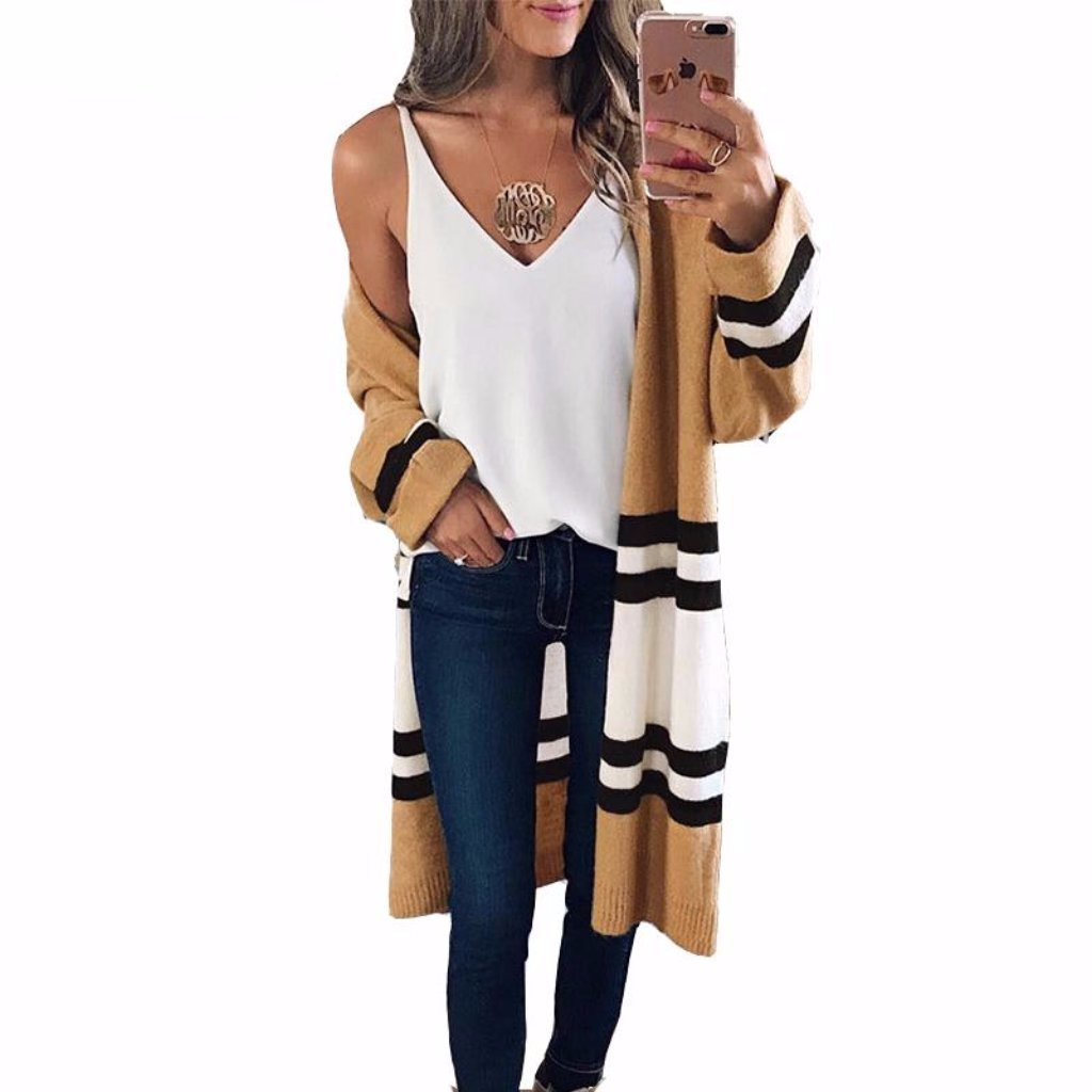 The Long Cardigan
