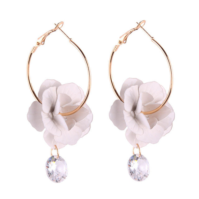 Flower Drops Earrings