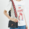 Riveted Hearts Shoulder Strap