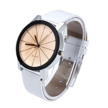 Load image into Gallery viewer, White Geometric Watch