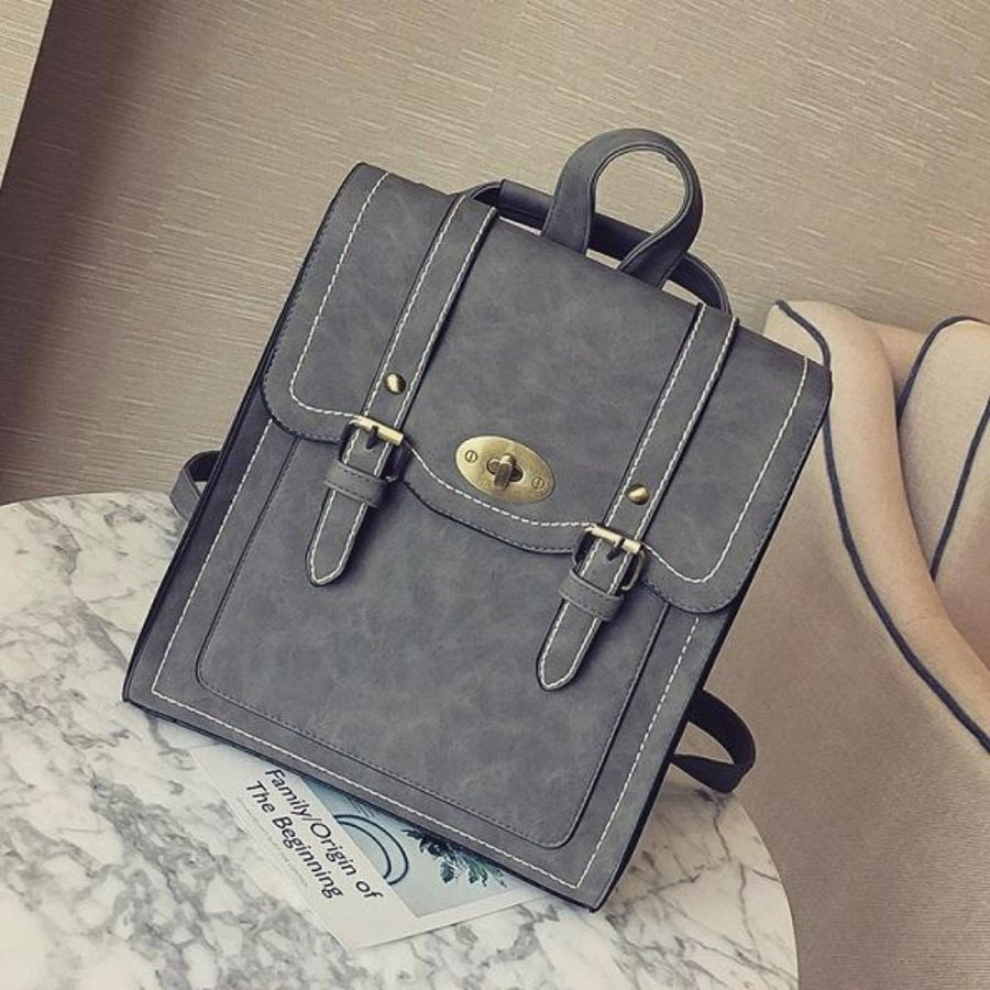 CHARLOTTE Vintage Backpack