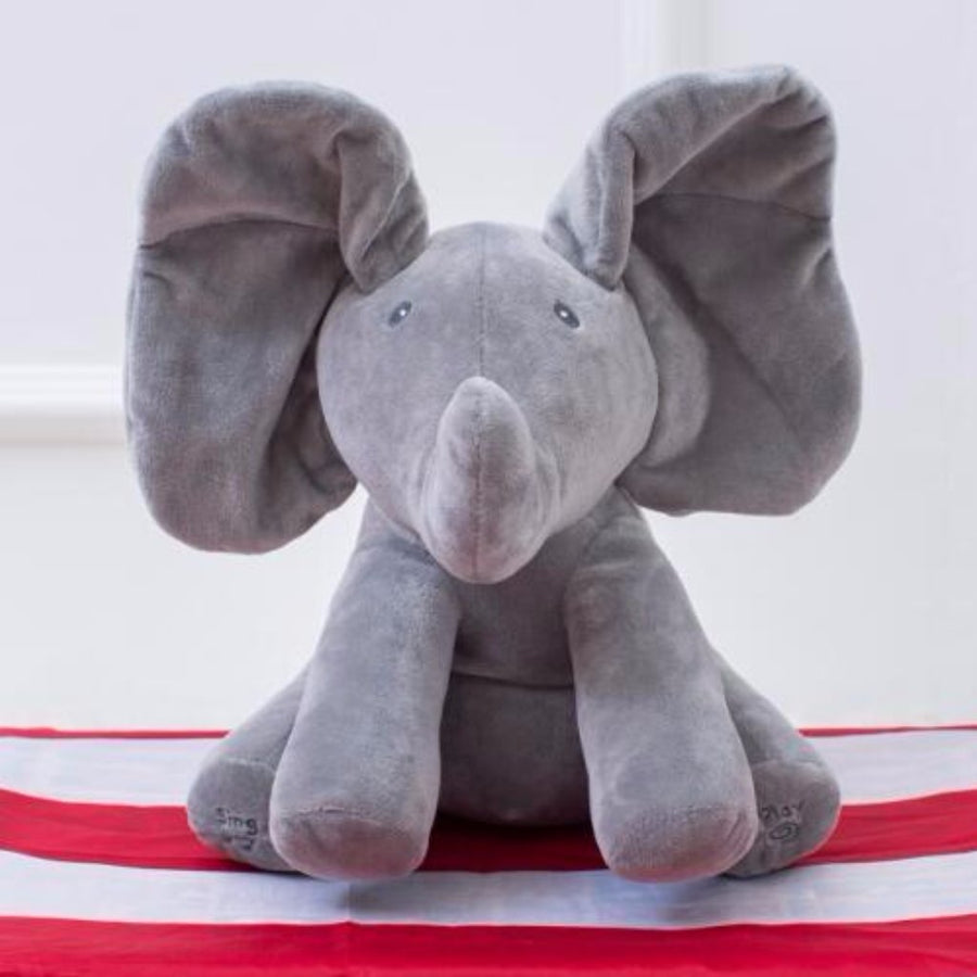 NEW! Peek-A-Boo Elephant Plush Doll