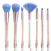 Crystal Makeup Brush Set (7pcs)