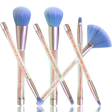 Load image into Gallery viewer, Crystal Makeup Brush Set (7pcs)
