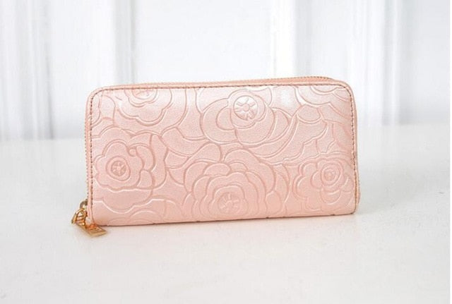 Rose Embossed Wallet
