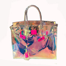 Load image into Gallery viewer, Eco-Friendly Jelly Handbag (Holographic)