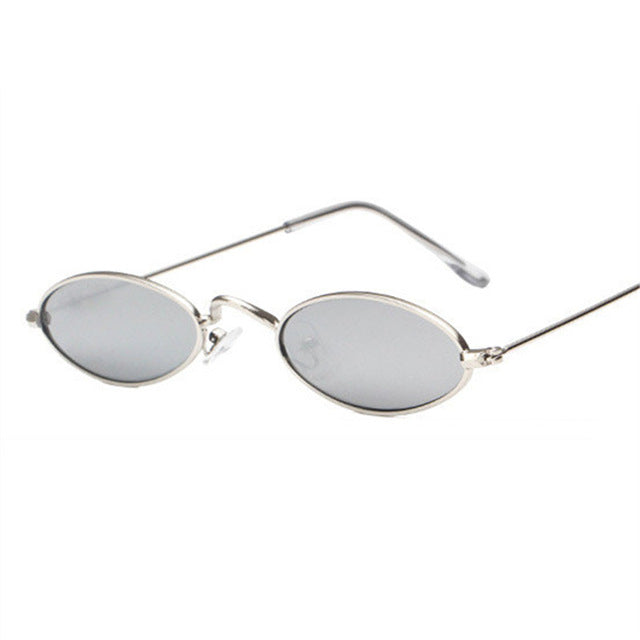 Retro Small Oval Sun Glasses