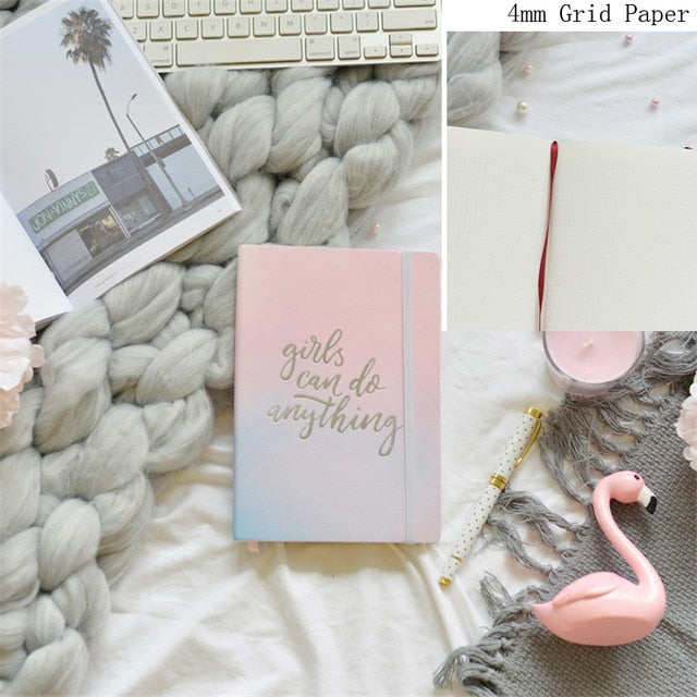 Cute Grid Paper Journal