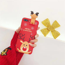 Load image into Gallery viewer, Luxury 3D Christmas Phone Case