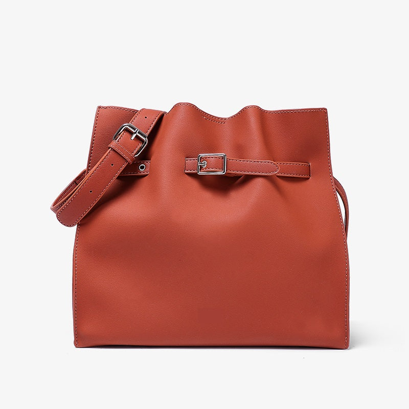 Buckle Bucket Bag