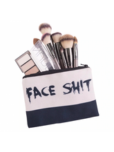 Load image into Gallery viewer, Face Shit Makeup Pouch
