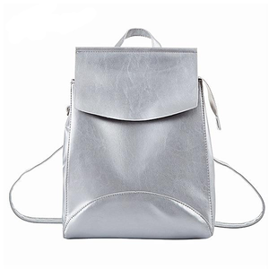 Cute Leather Shoulder Backpack