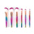 Technicolor Makeup Brush Set (6 piece)