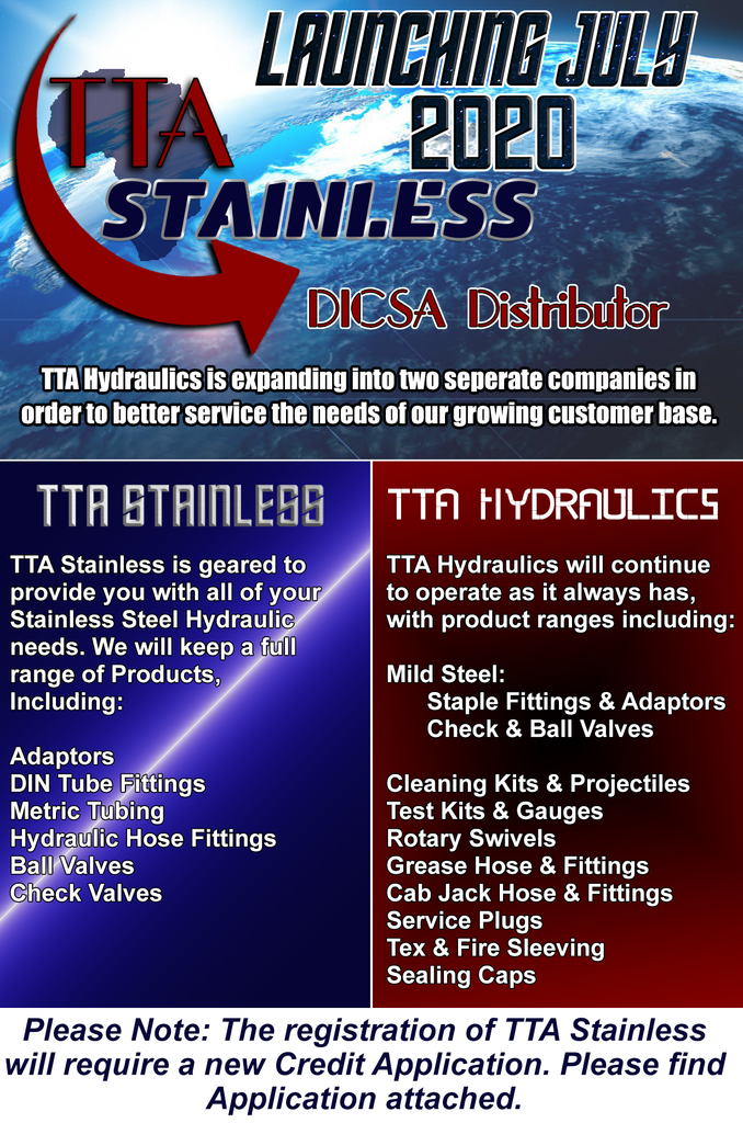 TTA Stainless Launch