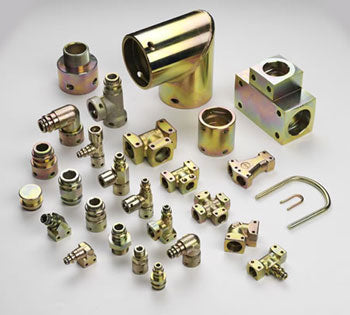 Staple Lock Fittings, Pins and Hosetails