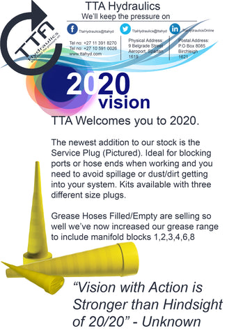 January Newsletter TTA HYdraulics