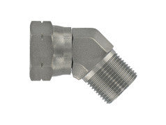 BSP Male to Female 45 Elbow Adaptor, E3-MB-FB-45