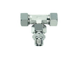EVT-LR-TEE-EVT Swivel Tee BSP Parallel - L Series Light