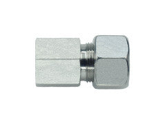 Female Stud Connector to Metric, S Series Heavy, GAI-SM-STR