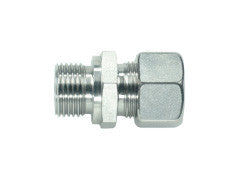 Straight Connector to BSP, L Series Light, GE-LR-STR