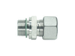 Straight Connector to BSP, LL Series Super Light, wd, GE-LLR-STR-wd