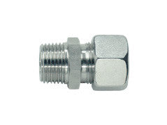 Straight Connector to Metric, L series Light, GE-LM-STR