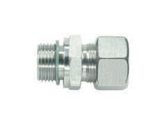 Straight Connector to Metric, L Series Light, wd, GE-LM-STR-wd