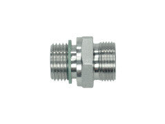 Straight Connectors to BSP, S Series Heavy, wd, omd, GE-SR-STR-wd