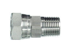 BSP Taper Male to BSP Female Swivel Adaptor, MBT-FB-STR-SWIV