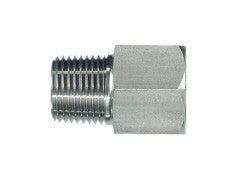 NPT Male to BSP Female Form B Fixed Adaptor, MN-FB-STR-FIX-FRMA