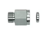 Female Gauge Connector, L Series Light, MV-LR-STR