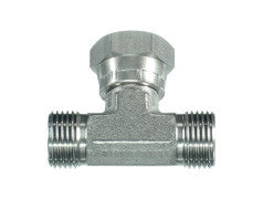 BSP Swivel Tee Piece Female on Branch Adaptor MB-FB-MB