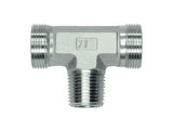 TE-LMK-TEE-TE Tee Couplings to Metric Taper Series - L Light