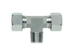 Stud Branch Tee Piece Connector to NPT, L Series Light, TE-LN-T