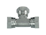 BSP Swivel Female Tee Piece Adaptors, FB-FB-FB
