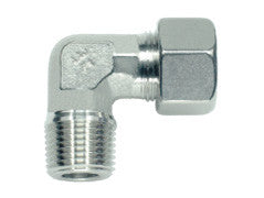 Stud Elbow Connector to NPT, LL Series Super Light, WE-LLN-90