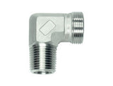 Stud Elbow Connector to BSP Taper, S Series Heavy, WE-SRK-90