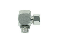 Banjo Elbow Connector to Metric Parallel, S Series Heavy, WHV-SM-90