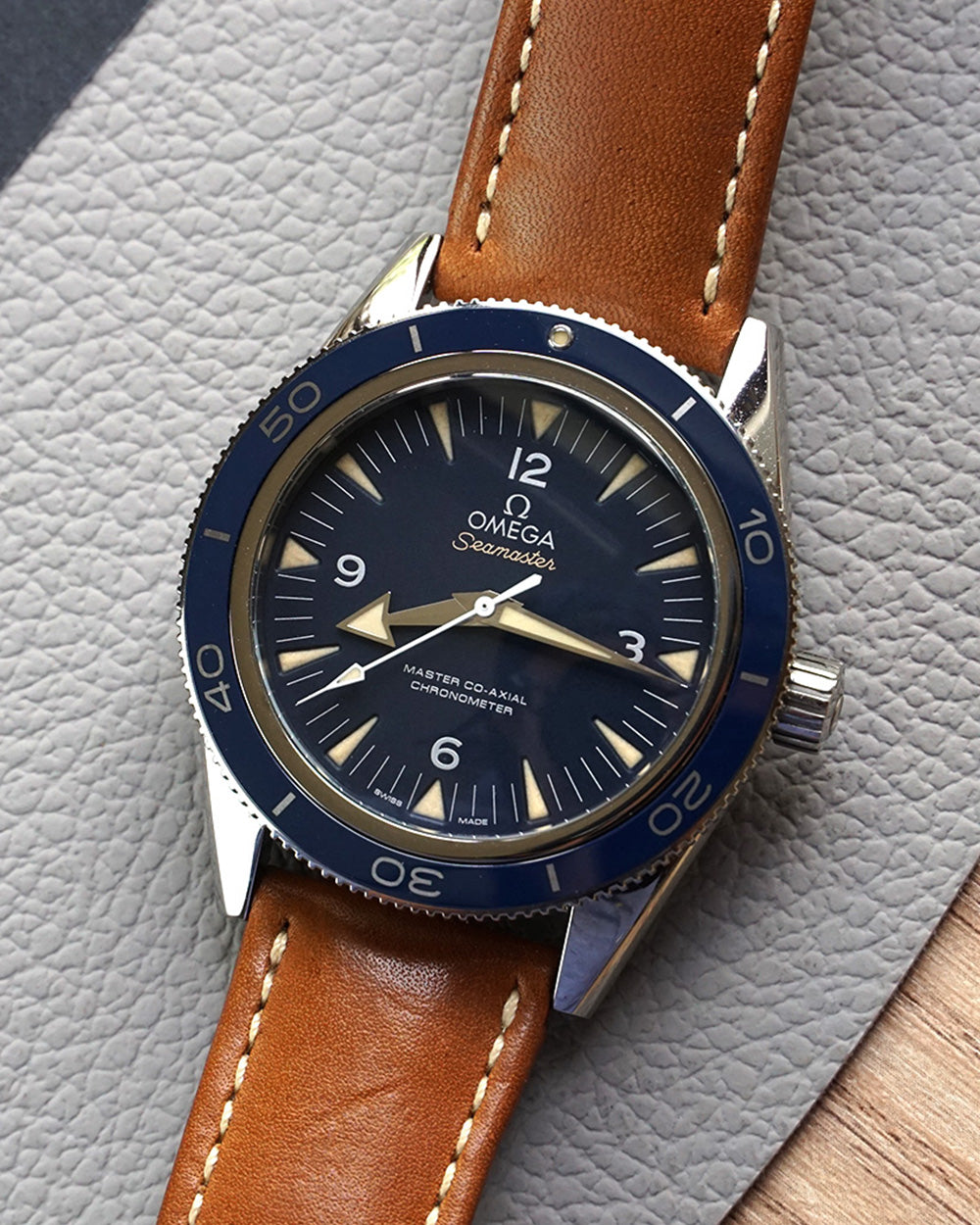 Seamaster 300 Co-Axial Titanium - Luxtime - Fine Watches