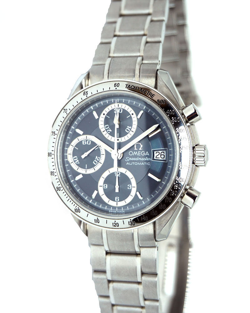 Speedmaster Date Blue Grey Japan Edition