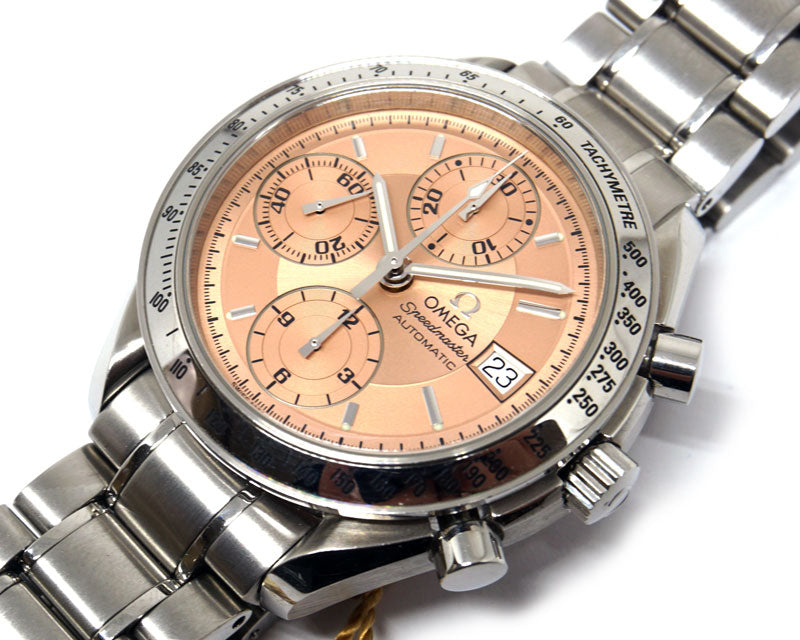 Speedmaster Date Copper Peach Japan Edition